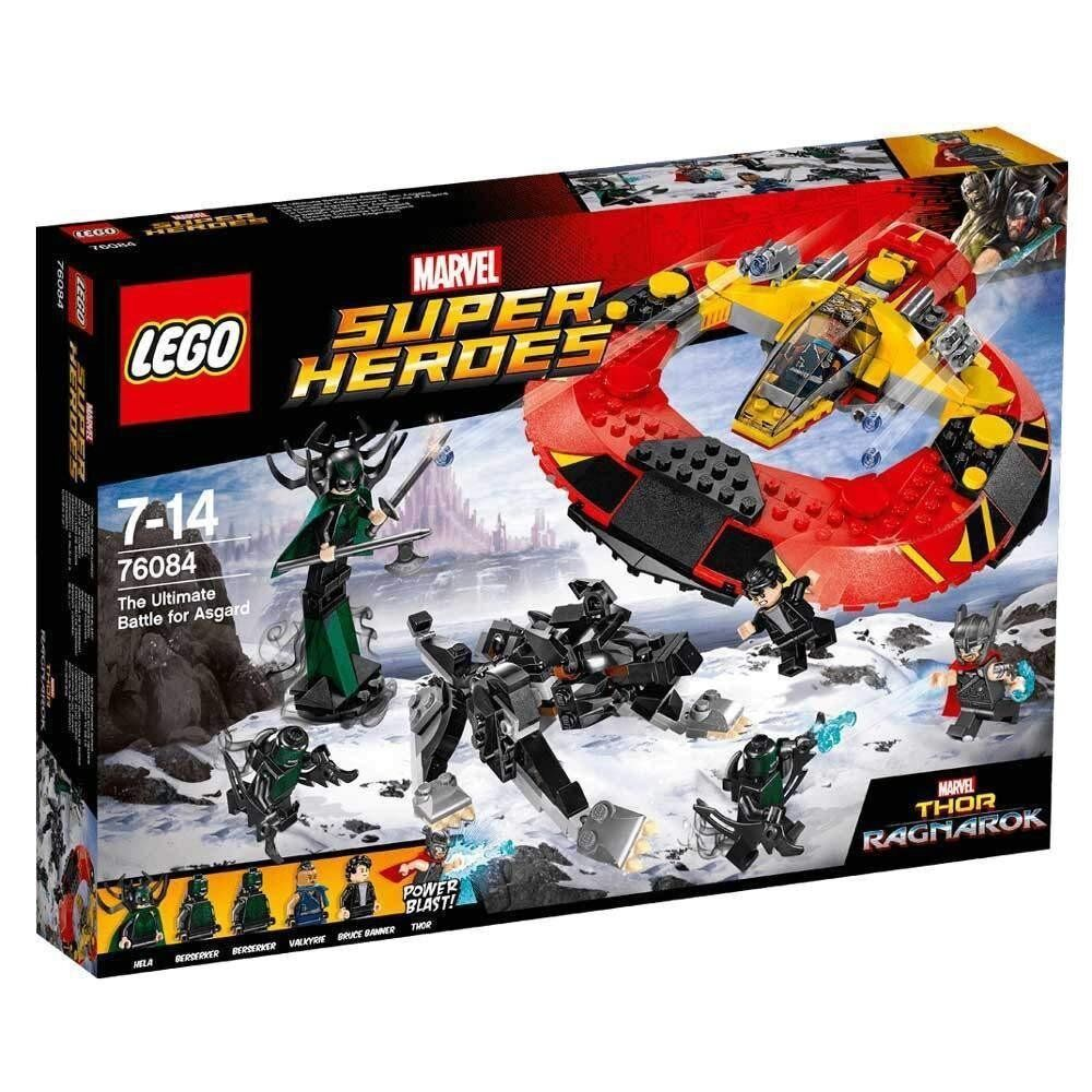 Lego 76084 Marvel Súper Heros Thor Ragnorak Asgard Nuevo Emb. Orig. Nuevo Sealed