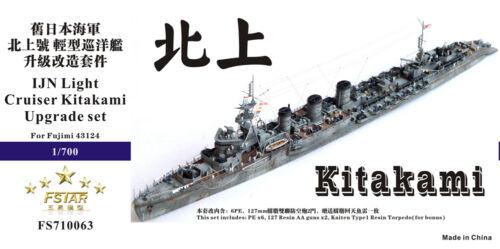 Five Star 1//700 FS710063 IJN Light Cruiser Kitakami for Fujimi