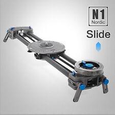 "80cm 32"" Nordic N1 DSLR Camera DV Track Slider Video Stabilizer Rail System"