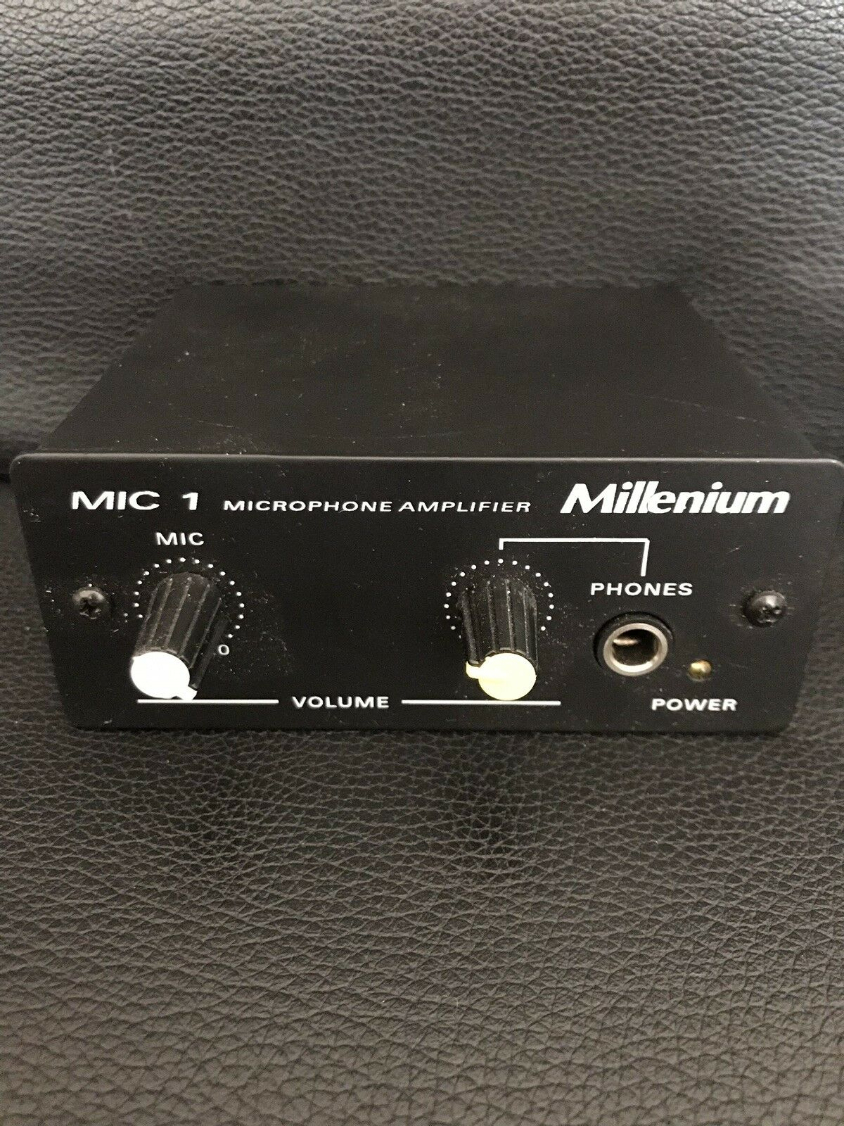 Millenium Mic 1 Microphone Amplifier