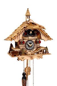 cuckoo-clock-black-forest-quartz-german-wood-batterie-clock-handmade-new