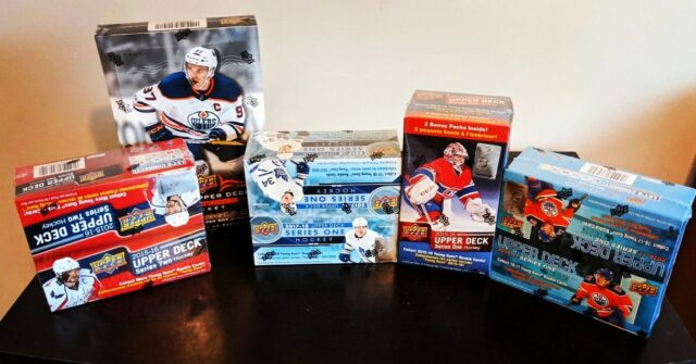 Group Break #2 - Upper Deck Series 1 & 2 - 2015-16 & 2016-17 Young Guns Chase