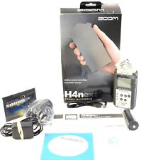 Zoom H4N Portable Digital Recorder w/ Carry Case & Accessories - In Box