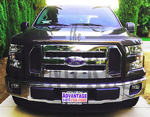 2016-2017 Ford F150 chrome grille grill insert overlay ...
