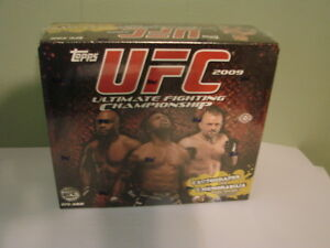 2009-Topps-UFC-Factory-Sealed-Box-16-packs-8-card-per-pack-B30