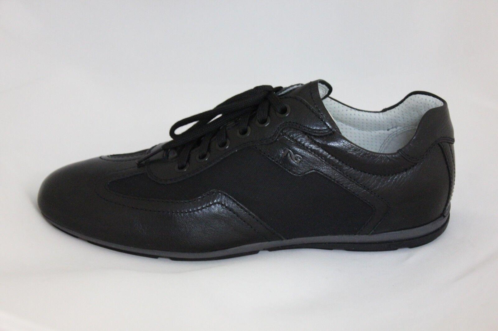 Scarpa sneakers nero pelle GIARDINI laccio cameriere 402390 NERO GIARDINI pelle 39 saldi 398181