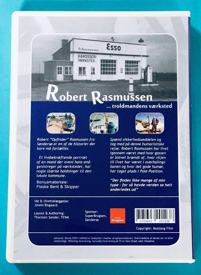 Robert Rasmussen- troldmandens værksted, DVD,