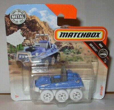 Matchbox ATV 6x6 in OVP 2018 75//125