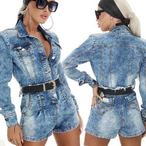 Jeans Kurze Hotpants Hose Alina Xs Par Jeansoverall Overall m Combinaison E6IqA