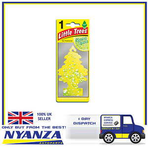 Little-Trees-Car-Home-Air-Freshener-Scent-SHERBET-LEMON