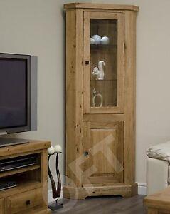 Montero-glazed-corner-display-cabinet-unit-solid-oak-dining-room-furniture