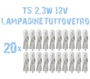 20x-Lampadine-Tuttovetro-2-3W-12V-x-Fari-Angel-Eyes-DEPO-Fiat-Punto-MK1-176-2B5