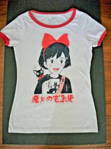 Kiki's Delivery Service T Shirt Top Vintage 1989