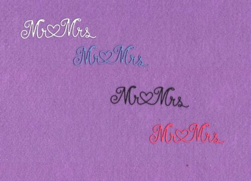 /& MRS # 6 wedding die cuts scrapbook cards MR