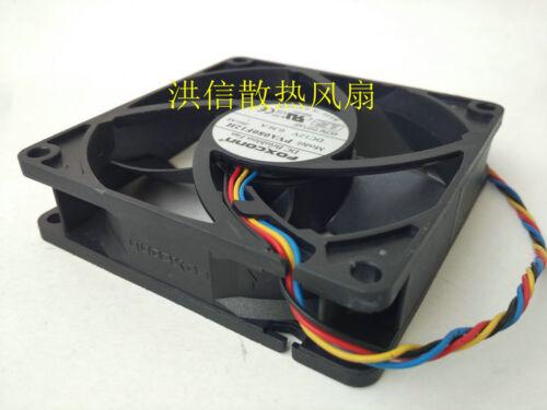 1PC FOXCONN PVA080F12H 12V 0.36A 8CM 4-wire Dell OptiPlex990 fan 725Y7