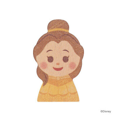 Japan Disney store Beauty and the Beast Belle Princess pass holder card badge