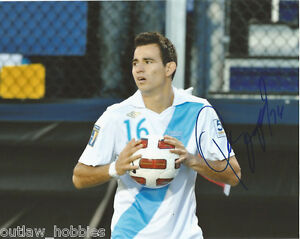 Guatemala-Marco-Pappa-Autographed-Signed-8x10-Photo-COA-B