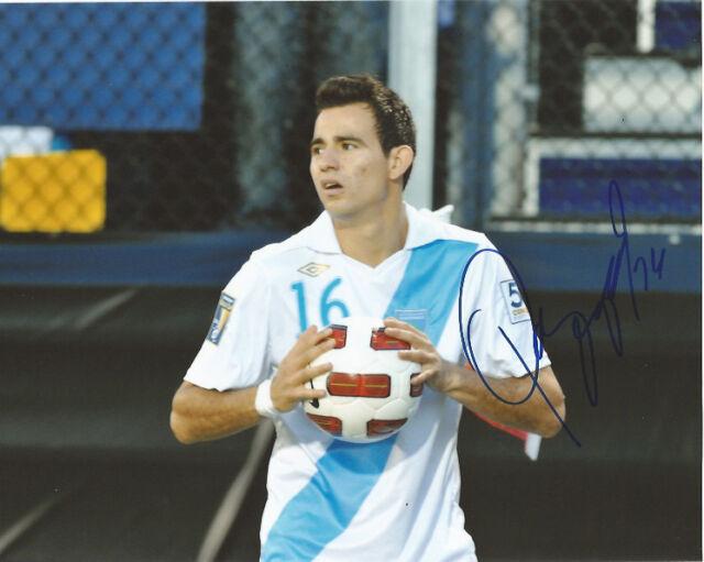 Guatemala Marco Pappa Autographed Signed 8x10 Photo COA B