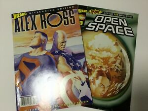 Wizard-Magazine-Millennium-Edition-with-Open-Space-0-Comic-Book-Alex-Ross
