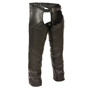 Satisfy Mens THERMAL LINED Premium Black NAKED LEATHER