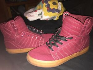 9016383b6f Men's Supra Skytop Chad Muska Skate Shoes, Red, Size 10, NEW With ...