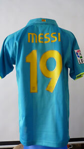 Maillot-Messi-FC-Barcelone-2007-2008-07-08-Taille-M-camiseta-shirt-Barcelona