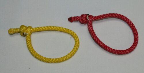ridgelines hammocks 7//64 AmSteel Soft Shackle yellow red for whoopie slings