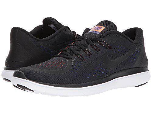 brand new e95d5 3dc91 Nike Flex RN 2017 Mens Running Shoe (Size 7 - 12) Black Violet Orange  898457-010