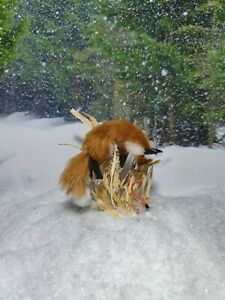OOAK-Realistic-hunting-fox-cat-Dollhouse-Handmade-IGMA-ARTISAN