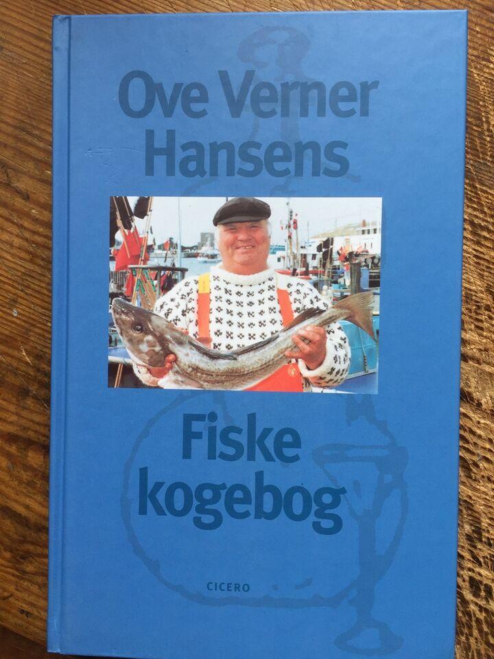 'Bøffens' FISKEKOGEBOG - 160 s - 1999, Ove Verner Hansen,