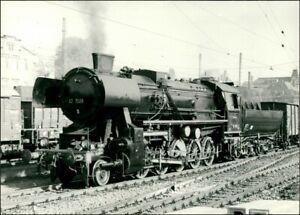 Ansichtskarte-Dampflokomotive-52-7058-1965