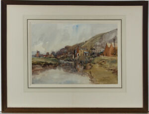 Joseph-Compton-Hall-RBA-1863-1937-Early-20th-Century-Watercolour-Lewes