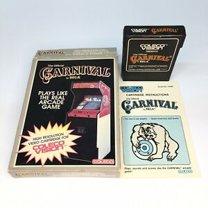 Coleco Vision 1982 The Official Carnival by SEGA / Vintage Complete