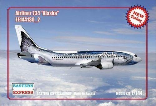 East Express 1  144 AIRLINER B -737 -400 ALASKA AIRLINES 144130 u 2