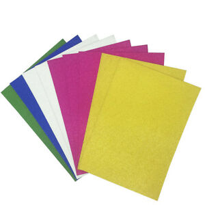 16-Sheets-Glitter-Card-A4-Single-Sided-Craft-Low-Shed-Fixed-Glitter-5-Colours