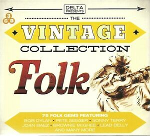 THE-VINTAGE-COLLECTION-FOLK-3-CD-BOX-SET-BOB-DYLAN-PETE-SEEGER-MORE