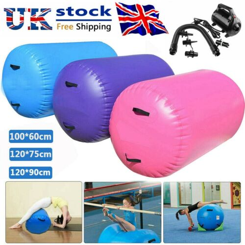 Rouleau Gonflable gymnastique Air Mat Baril Track Rouleau cylindre Training