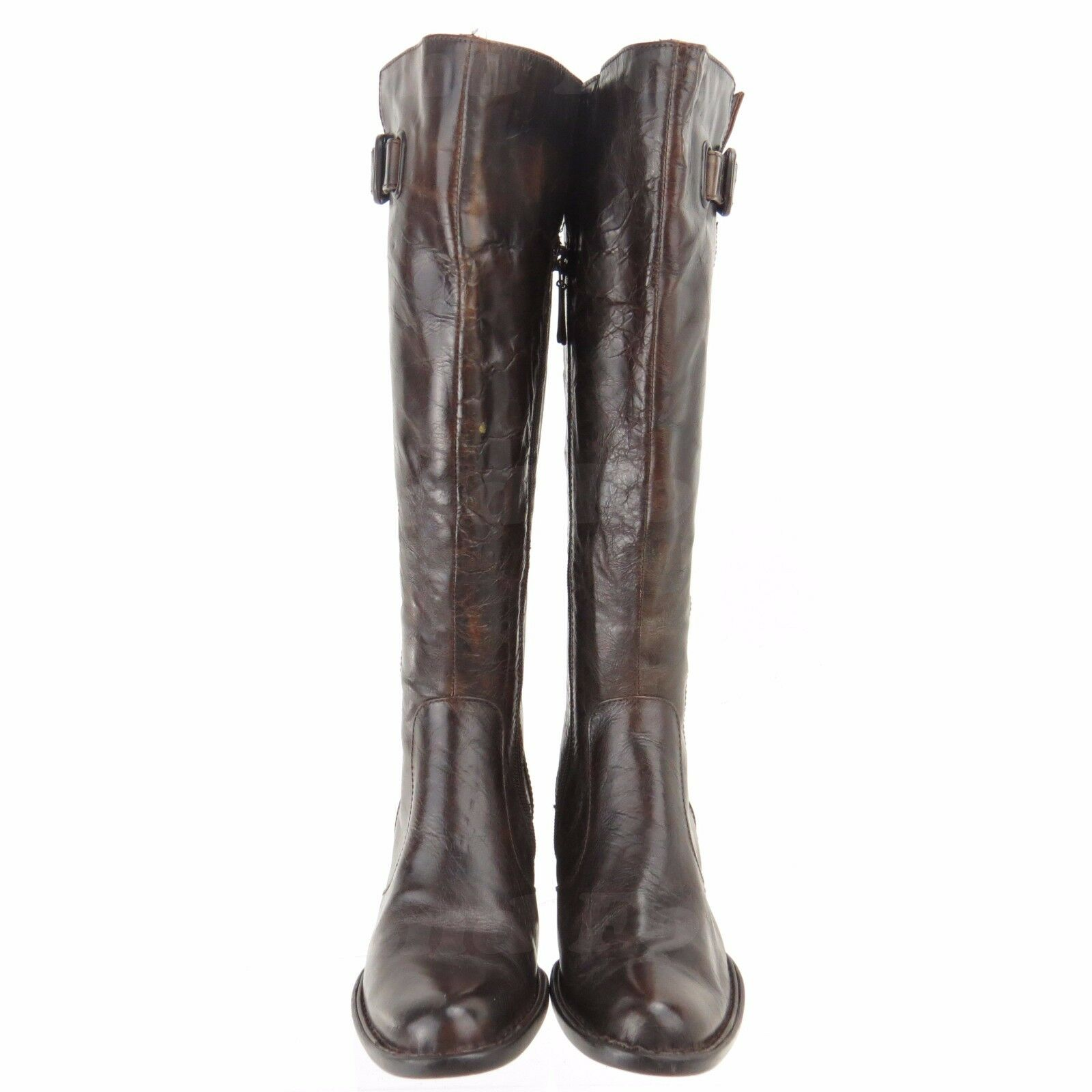 Born Crown Roxie Women's shoes Dark Brown Leather Knee High High High Boots Size 5 M NEW b7d825