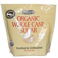 Organic Whole Cane Sugar Rapunzel 24 Oz Granule