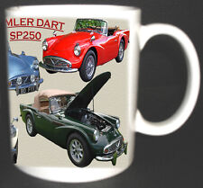 DAIMLER DART SP250 CLASSIC CAR MUG.LIMITED EDITION.TOP GIFT 1959-64