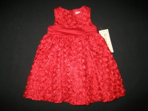 """NEW /""""RED GLIMMER/"""" Holiday Dress Girls 18m Winter Boutique Clothes Christmas 1 pc"""