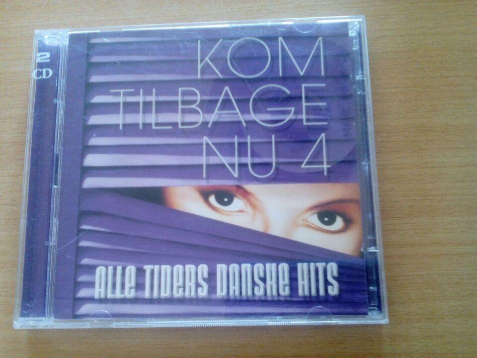Danske: Kom tilbage nu 4, 2 cd' er, andet