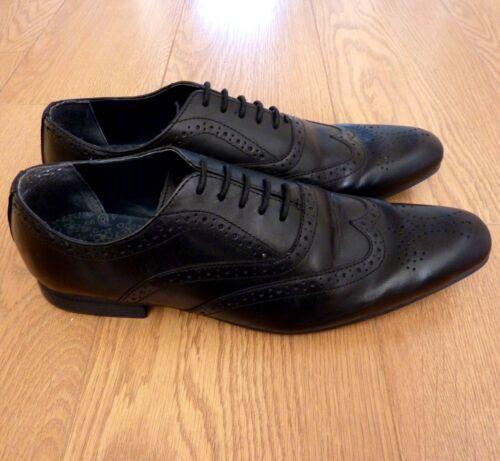 Est Oxford Eu Uk 43 Leather 9 Brogues Shoes Design Men's Formal Black Next 1982 S4fqFW5
