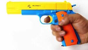Toy Gun Classic Colt Pistol M1911 Kids Dart Guns Soft Bullet Outdoor