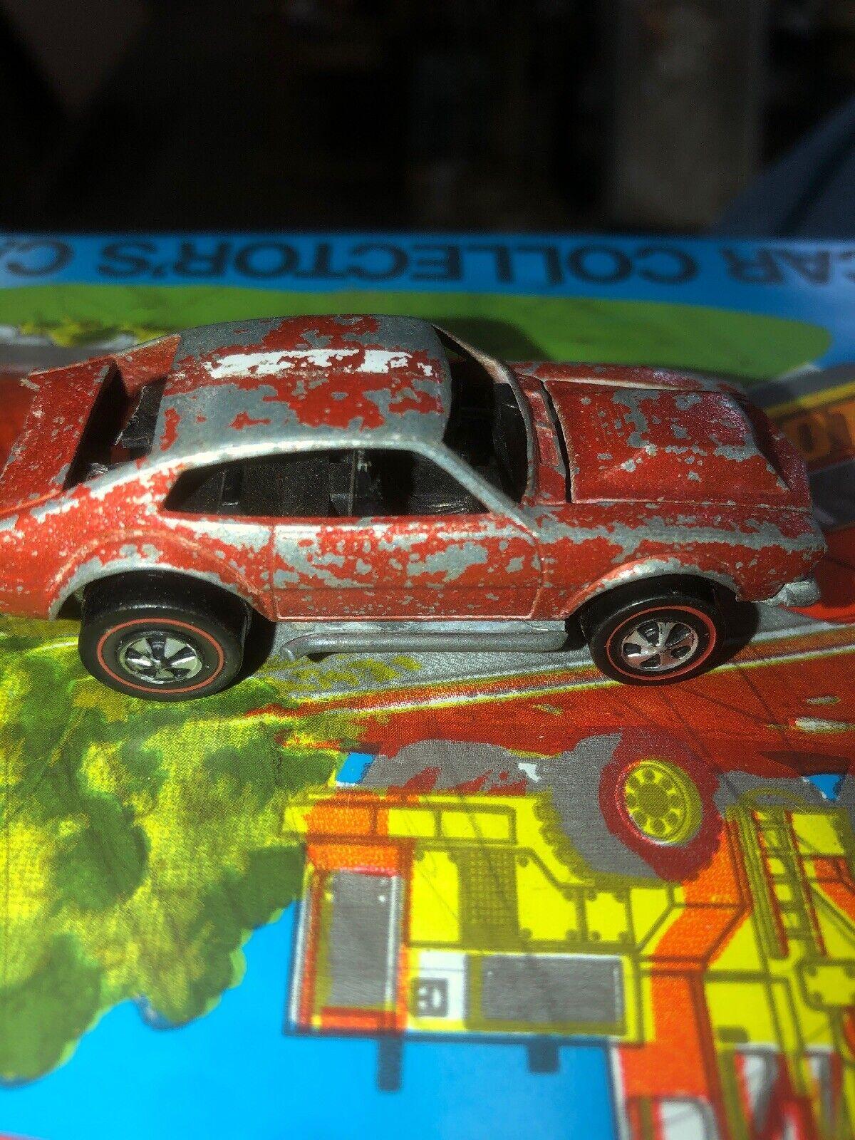 1970 Hot Wheels rotline Mighty Maverick TUF HK Orange