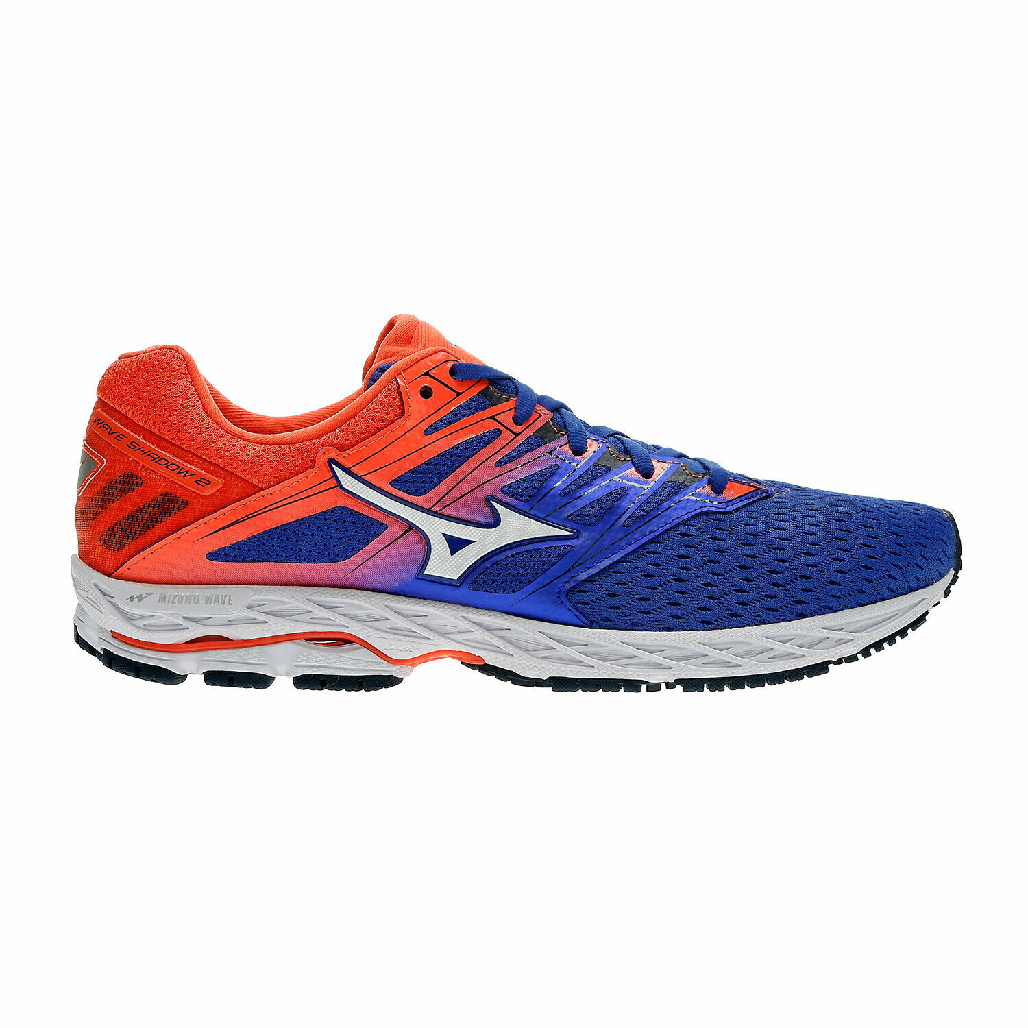 MIZUNO WAVE SHADOW 2 RUNNING SHOES MAN AIRY CUSHIONED PROFESSIONAL