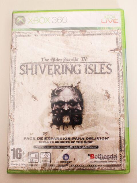 THE ELDER SCROLLS IV SHIVERING ISLES - XBOX 360 - PAL ESPAÑA NUEVO - OBLIVIION 4