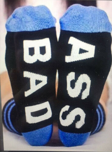 Unisex Funny Women Men Socks Casual Sports Cotton Long Socks Xmas Gifts