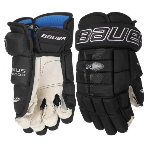 Bauer NEXUS N9000 Senior BLACK Ice Hockey Gloves