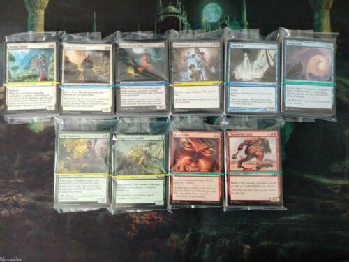 Free P/&P, Choose Your Colour MTG Magic the Gathering 100 Commons Bulk Lot